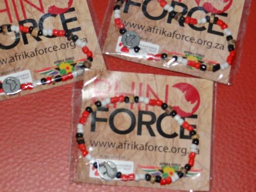 Save the Rhino bracelets
