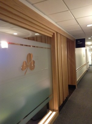 Aer Lingus Lounge Boston