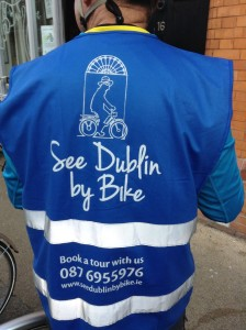 See Dublin by Bike the blue vest