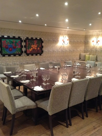 Private Dining Charlotte Street Hotel