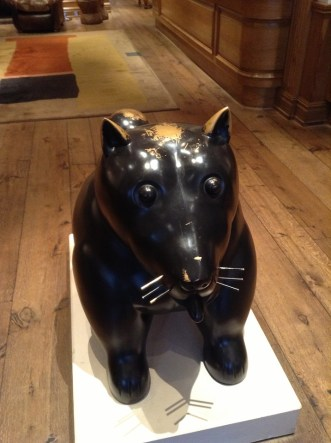Lobby Dog Charlotte Street Hotel London