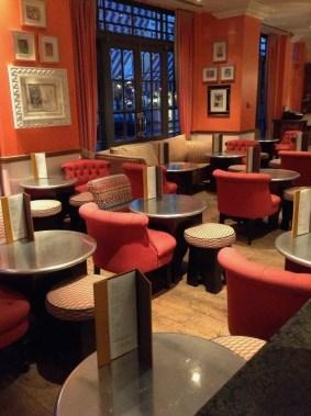 Oscar Bar Restaurant Lounge Area at Charlotte Street Hotel London
