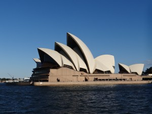 Sydney Opera House clear blue skies Australia