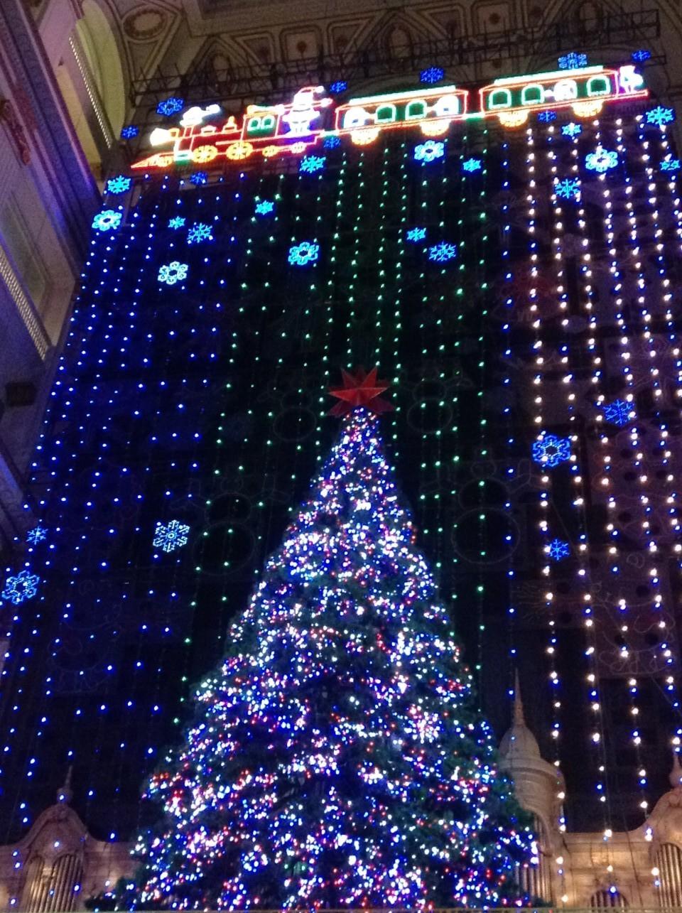 the santa express train christmas light show - Christmas Light Train