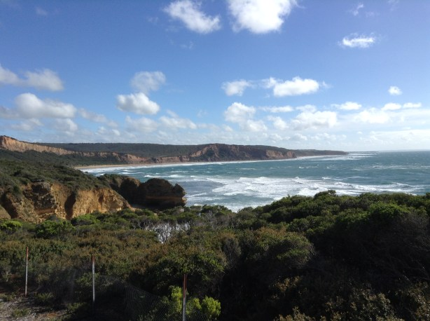 The first stop along The Great Ocean Road in Melbourne