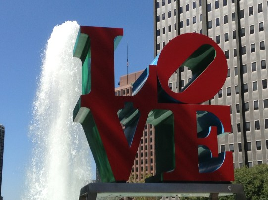 LOVE Park in Philly