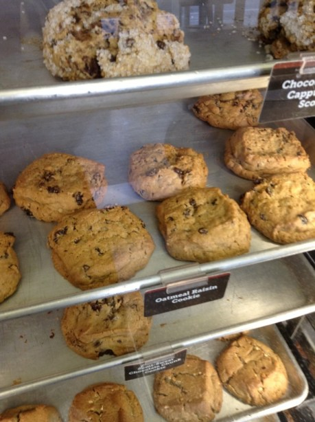 Yummy cookies at Speciality's