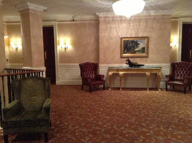 Westin Dublin lobby