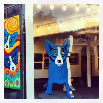 Blue Dog George Rodrigue New Orleans