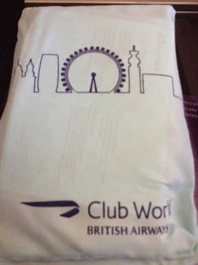 British Airways Club World toiletry kit