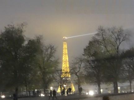 Eiffel Tower Illuminated at night Starwood Luxury Privileges