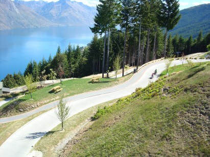 Skyline luge track Queenstown