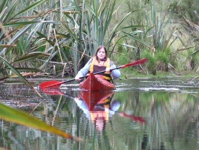 Philatravelgirl Kayaking Lake Mapourika New Zealand