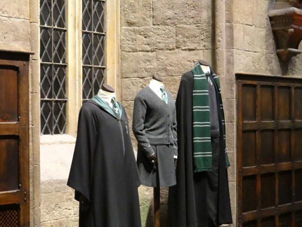 Harry Potter Studio Tour dorm uniforms