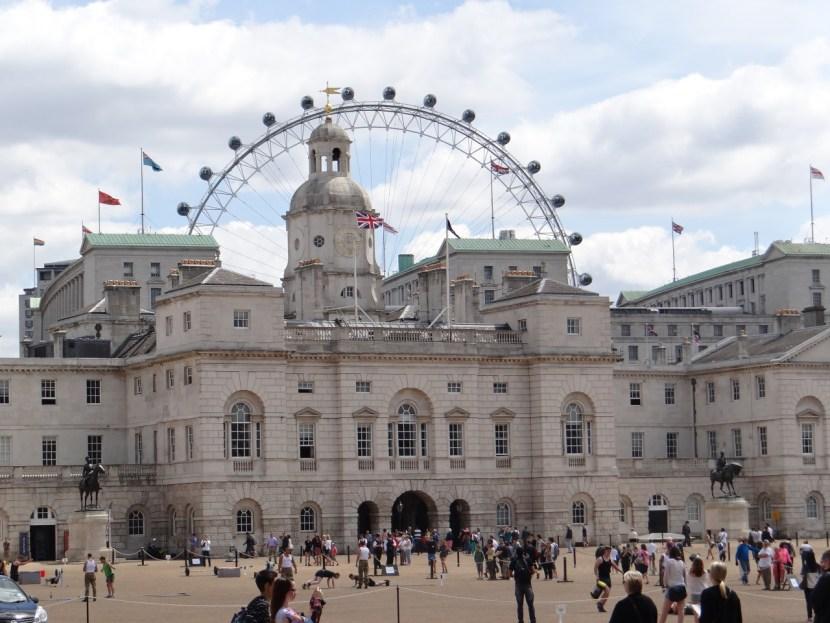London Eye Horse Guards