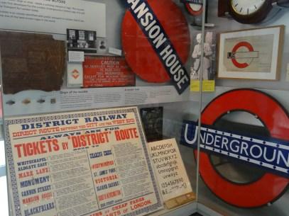 London Transit Museum 5 Days in London
