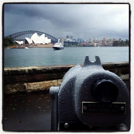 Sydney Opera House in Rain