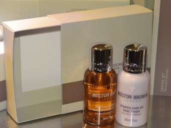 Molton Brown toiletries at The Henry Jones Art Hotel