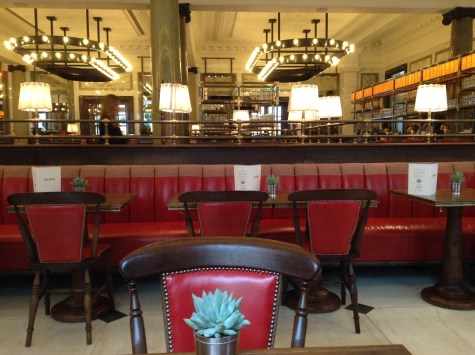 The Rosewood Hotel breakfast at the Holborn Dining Room