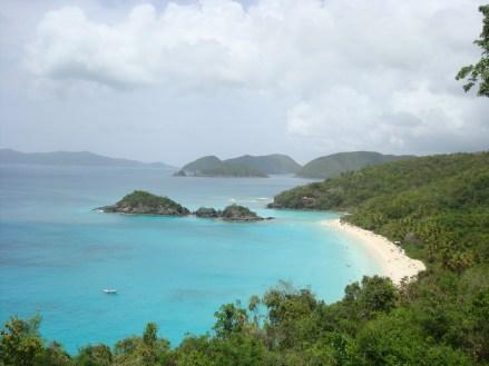 Island of St. John beach coastline
