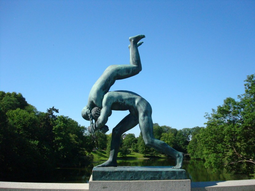 Vigeland Sculpture Park couple