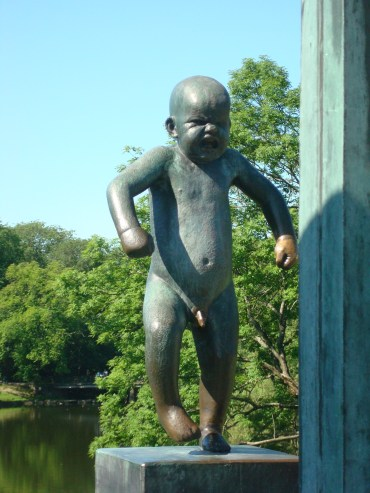 Angry Baby Angry Boy Oslo Vigeland Sculpture Park