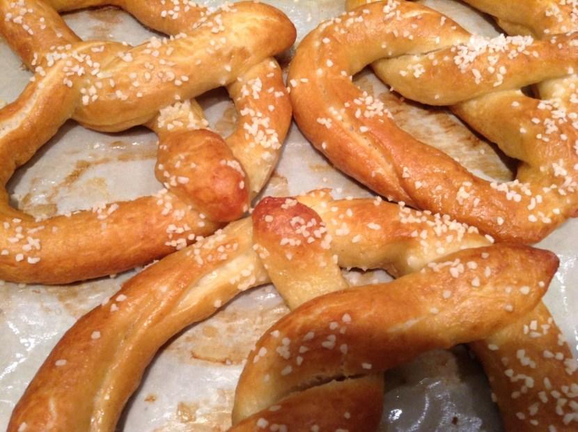 Soft Pretzel baking class