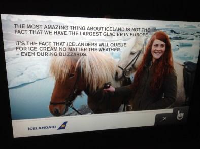 Icelandair IFE ads