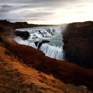 Winter Visit to Reykjavik Gullfoss Waterfall Iceland Golden Circle