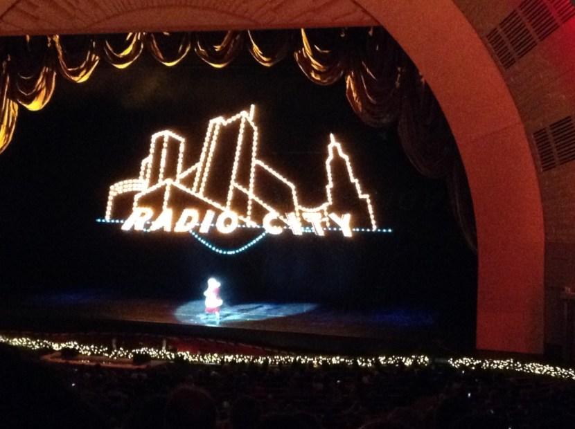 Radio City Music Hall Santa