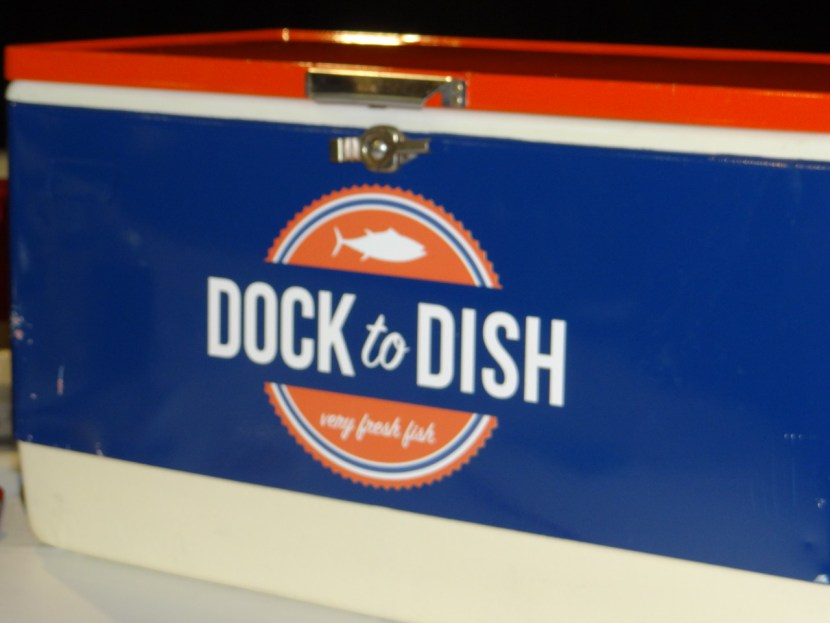 Dock to Dish in Three Hands