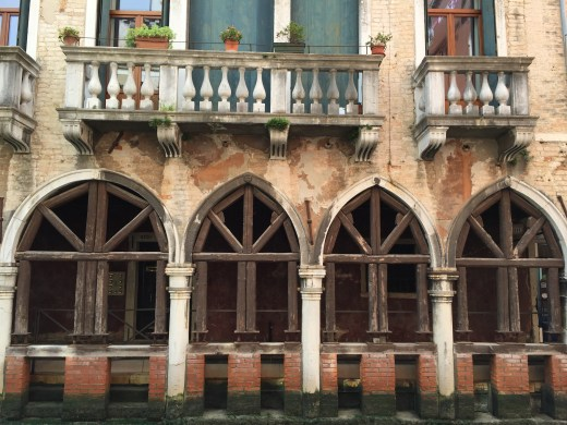 Venice home on canal
