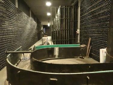 Llopart cellar tour