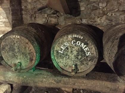 Les Comes Wine Cellar
