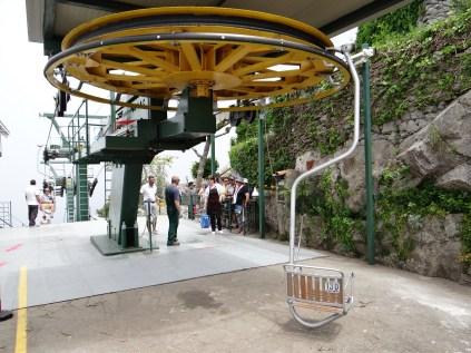 Anacapri chair lift station