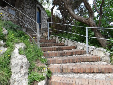 Blue Grotto stairs