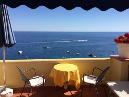 Hotel Weber Ambassador Capri view Marina Piccola