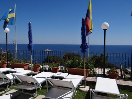 Hotel Weber Ambassador poolside view
