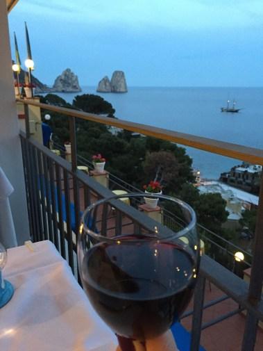 Hotel Weber Ambassador dinner view