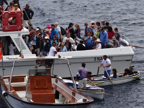 Marina Grande Tour to Blue Grotto Capri