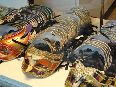 Venetian Masks in Venice