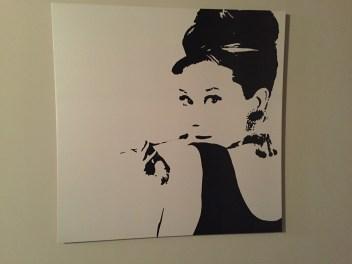 Audrey Hepburn print Venice