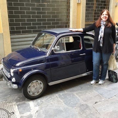 PhilaTravelGirl Fiat 500 tour in Florence