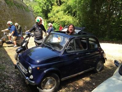 Fiat500 Open Roof PhilaTravelGirl