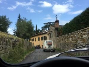 Florence Fiat 500 tour Tuscan Hills