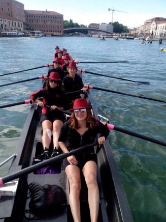 Vogalonga Tre Ponti Rome rowing club