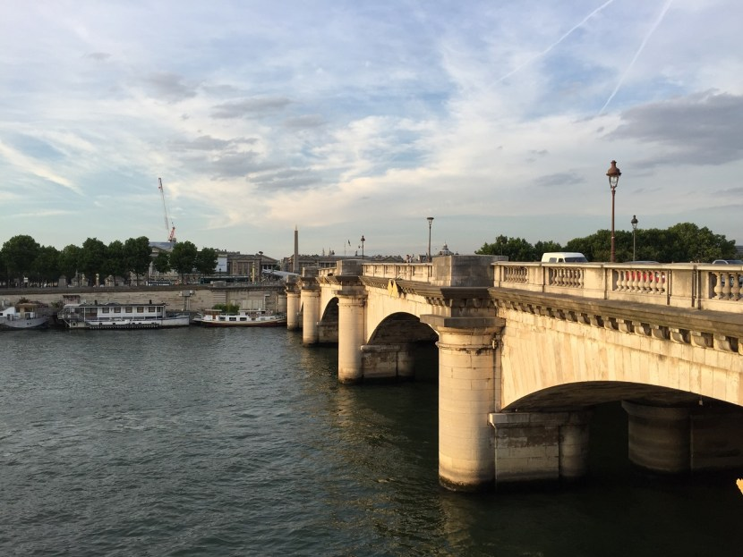 Bridge over the Seine in Paris