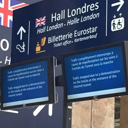 Eurostar Notice of Delay
