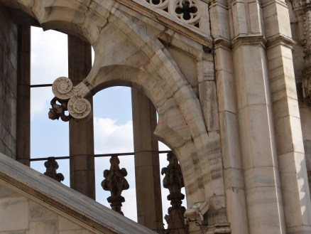 Milan Duomo Arches
