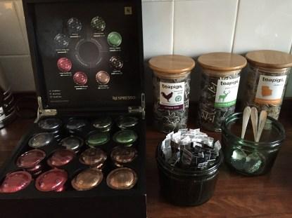 Great Northern Hotel London coffee tea